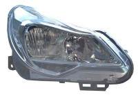 KOPLAMP LINKS MET PINKL. (Chrome) (PL)       VALEO