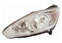 KOPLAMP LINKS MET PINKL. H7+H1 +Moteur El.   VALEO