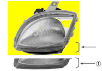 KOPLAMP LINKS +MOTOR -SPORTING  CARELLO