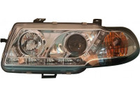 Koplampen DRL-Look Opel Astra F 9/91-6/94 Chrome
