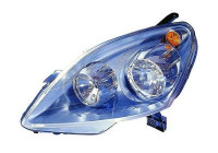 KOPLAMP LINKS MET KNIPPERL. H7+H1 +Elekt.Motor   A.L.