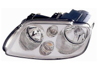KOPLAMP LINKS  MET KNIPPERLICHT  2 X H7 Chrome met motor