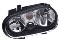 Koplampen High Quality Volkswagen Golf IV Black 97-03 inclusief mistlampen