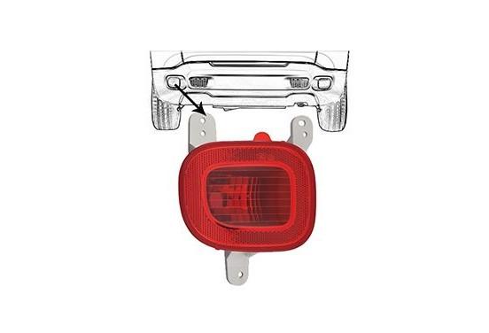 Mistachterlamp 2128929 Van Wezel