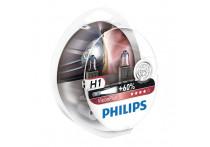 Philips 12258VPS2 H1 VisionPlus 55W 12V - 2 stuks