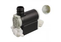 Pompe d'eau de nettoyage, nettoyage des vitres 107382 FEBI