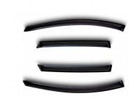 Déflecteurs de vent latéraux Chevrolet Matiz 2005- Ensemble de 4 pièces avant + arrière