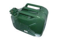 Jerrycan 10l groen metaal TüV/GS