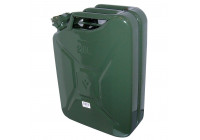 Jerrycan 20l groen metaal TüV/GS