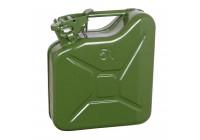 Jerrycan 5l groen metaal
