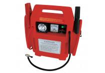 Jumpstarter 400A / 12V met compressor