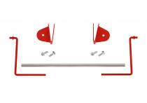 Papierrolhouder rood (S10, S11, S13)