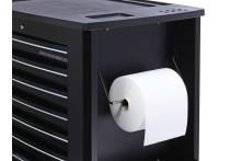 Papierrolhouder zwart (S10, S11, S13)