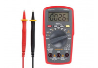 DIGITALE MULTIMETER - CAT. II 500 V / CAT. III 300 V - 10 A -  AUTOMATISCH BEREIK - 4000 COUNTS
