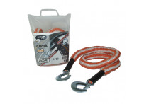 Jumbo Sleepkabel Stretch Oranje/Wit 2500kg