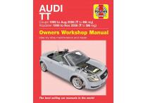 Haynes Werkplaatshandboek Audi TT Mk I (1999-2006)
