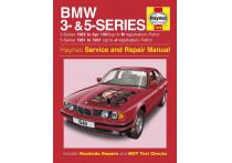 Haynes Werkplaatshandboek BMW 3- & 5-Series benzine (1981-1991)