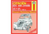 Haynes Werkplaatshandboek Citroën 2CV, Ami & Dyane (1967-1990)