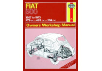 Haynes Werkplaatshandboek Fiat 500 (1957-1973) classic reprint