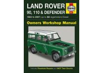 Haynes Werkplaatshandboek Land Rover 90, 110 & Defender diesel (1983-2007)