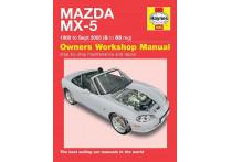 Haynes Werkplaatshandboek Mazda MX-5 (1989-2005)