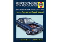 Haynes Werkplaatshandboek Mercedes-Benz 124 benzine & diesel (1985-Aug 1993)