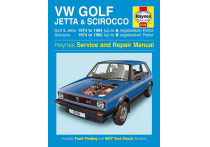 Haynes Werkplaatshandboek VW Golf, Jetta & Scirocco Mk 1 benzine 1.5, 1.6 & 1.8 (1974-1984)
