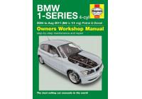 Haynes Werkplaatshandboek BMW 1-Series 4-cyl benzine & diesel (2004 - Aug 2011)