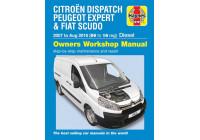 Haynes Werkplaatshandboek Fiat Scudo, Peugeot Expert diesel (2007-2016)