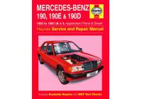 Haynes Werkplaatshandboek Mercedes-Benz 190, 190E & 190D benzine & Diesel (1983-1993)