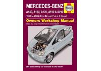 Haynes Werkplaatshandboek Mercedes-Benz A-Class benzine & diesel (1998-2004)