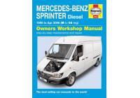 Haynes Werkplaatshandboek Mercedes-Benz Sprinter diesel (1995 - Apr 2006)