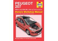 Haynes Werkplaatshandboek Peugeot 207 benzine & diesel (2006-Juli 2009)