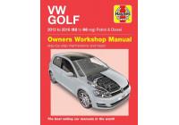 Haynes Werkplaatshandboek VW Golf benzine & Diesel (2013-2016)