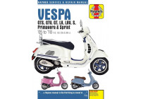 VespaGTS, GTV, GT, LX, LXV, S, Primavera  &  Sprint (05 - 18)