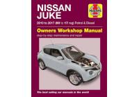 Haynes Werkplaatshandboek Nissan Juke benzine & diesel (2010 - 2017)