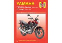 Yamaha YBR125  (05 - 16) &  XT125R/X  (05 - 09)