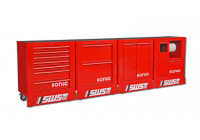 Gevulde SWS opstelling 378-dlg. rood