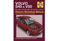 Haynes Werkplaatshandboek Volvo S40 & V50 benzine & Diesel(2004-2007)  04 to 07