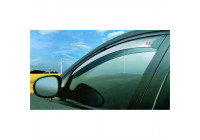 G3 side wind deflectors front for Dacia Duster 2018+
