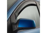Side wind deflectors Dark for Fiat 500 3 door 2007-