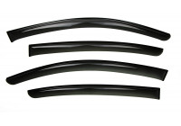 Side wind deflectors Dark Jaguar XE Sedan 2015+ 4-part