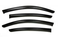 Side wind deflectors Dark Volkswagen Golf VII Hatchback 2012-2017 4-piece