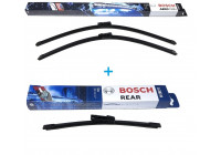 Bosch Windshield wipers discount set front + rear